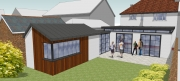 Residential Extension Render