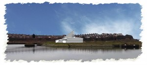 sketch of barry community water and activty centre
