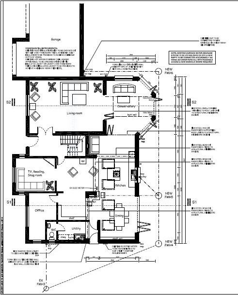 Richard Andrews Architects, Residential Extension Plans