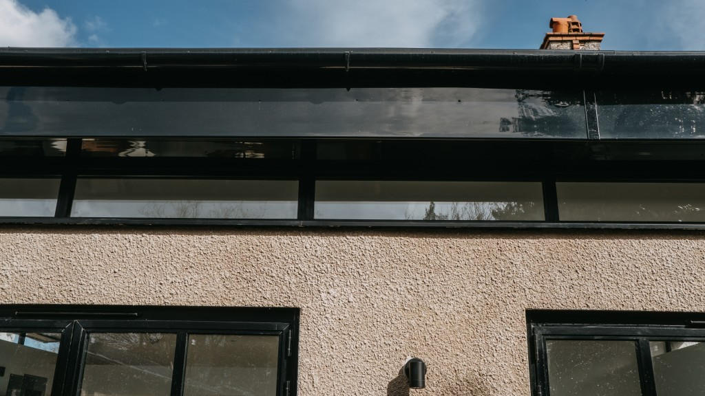 Exterior Details Cardiff Residential Extension