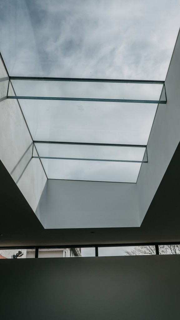 Sky Light details Cardiff Residential Extension