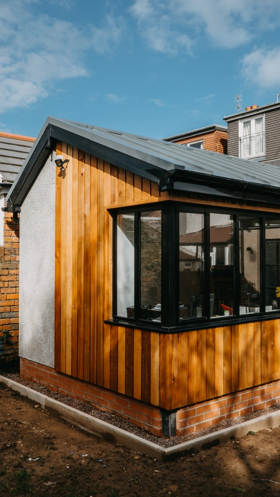 Exterior Cardiff Residential Extension